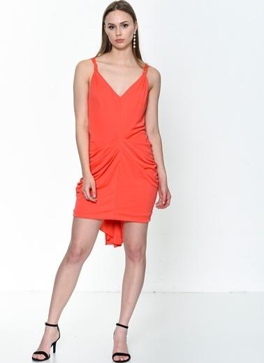 BcbgMaxAzria Elbise Kırmızı